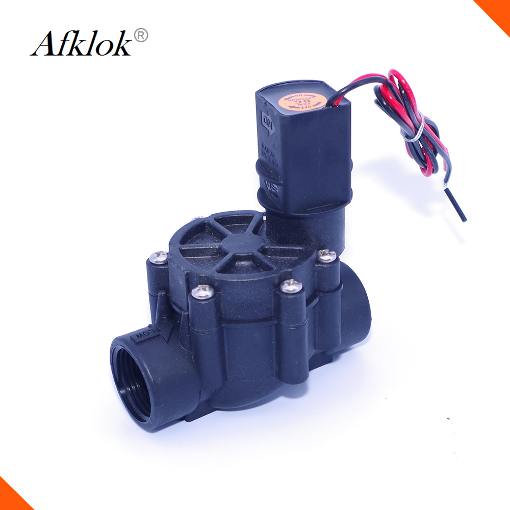 Irrigation System Low Pressure Agriculture Irrigation Valve 24v 1 Inch Water Solenoid Valve Normally Closed