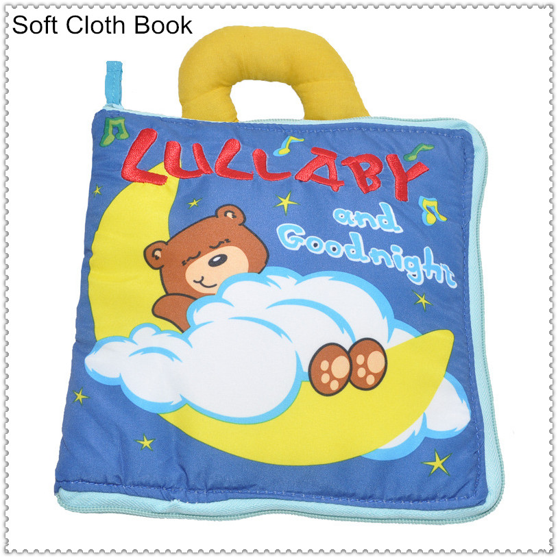baby-goodnight_Free shipping Hot sale Teddy Bear Lullaby and Goodnight baby Goodnight soft Cloth ...
