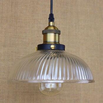 IWHD LEDจี้ไฟเหล็กวินเทจโคมไฟสไตล์ลอฟท์อุตสาหกรรมย้อนยุคแขวนไฟห้องครัวบาร์รับประทานอาหารระง...