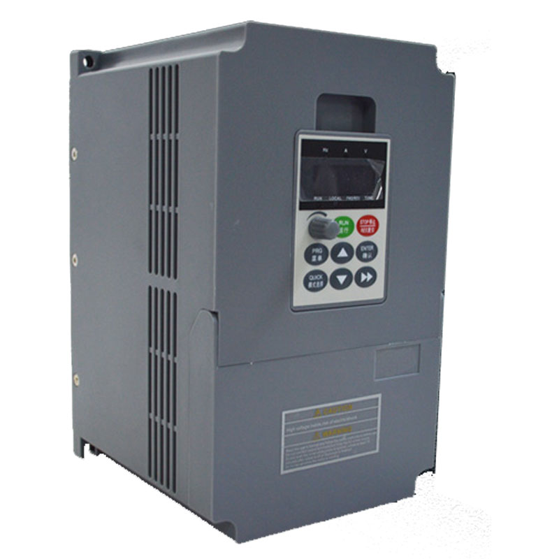 3HP 2.2Kw Heavy Load 400hz Inverter Input 1Ph 220V AC VFD Speed Control 17A Motor Drive VFD Matching Universal Motor bosnic ph control 1