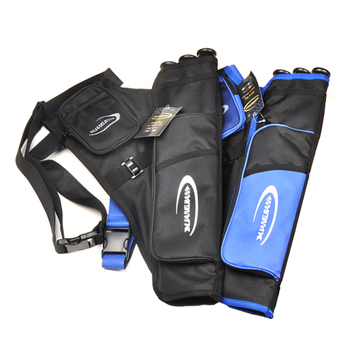 3 Color 3 Tubes Arrow Quiver for Archery Hunting Arrows Holder Bag with Adjustable Strap 1