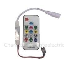 10 pcs SP103E DC5V/12v WS2801 WS2812B DC12V 2811 Mini Digital RGB LED Strip Controller 14Key RF Wireless Remote 2048Pixels LED цены онлайн