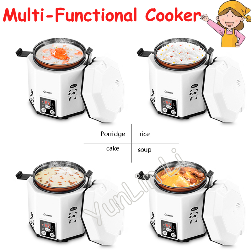 1.2L Mini Rice Cooker Intelligent Time-Appointment Electric Porridge Cooker Suitable for 1-2 People CFXB12-200B цена и фото