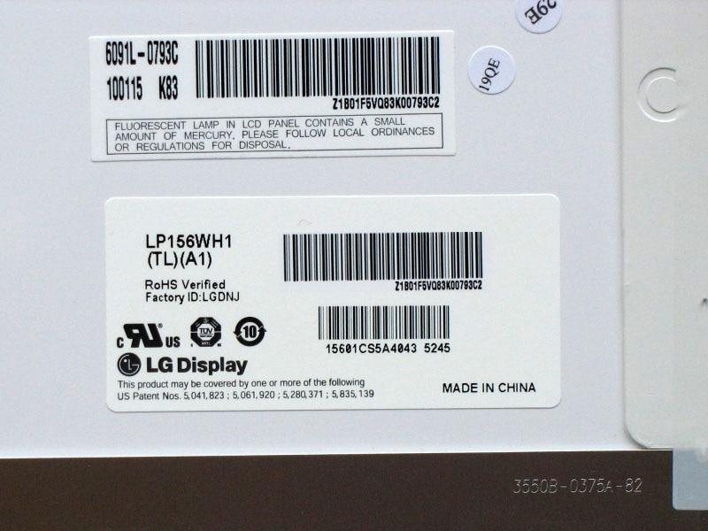 LP156WH1 TLA1 LP156WH1 TLA1 LP156WH1 TL A1 LCD Display LED Screen Matrix for Laptop 15 6