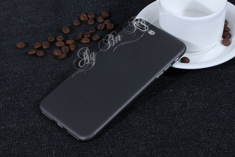 HTB19WzHQXXXXXbFaXXXq6xXFXXX5 - FREE SHIPPING Ultrathin Hard frosted Case for iphone X 7 6S 6 8 Plus Slim Matte PP Cover Clear Black Grey Purple Rose Red Green Blue JKP386