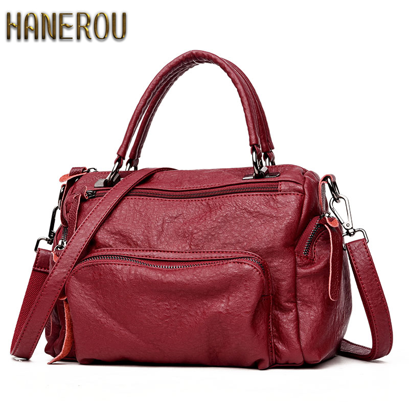 New 2018 Fashion Women Bag Ladies Hand Bag Autumn Shoulder Bags Designer Handbags High Quality PU Female Handbag Bolsas Sac new fashion women bag messenger double shoulder bags designer backpack high quality nylon female backpack bolsas sac a dos