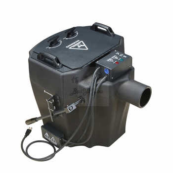 New 6KW Big Super Power Dry Ice Fog Machine 6000W DMX Low Lying Fog Machine Dry Ice Smoke Machine With Metal Outlet And Fly Case