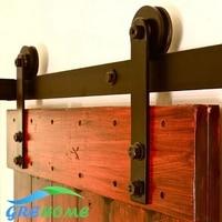 6 6 FT Cast Iron Sliding Barn Door Hardware