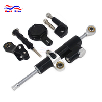 Motorcycle Mounting Holder Steering Damper Bracket Stabilizer For YAMAHA YZFR1 YZF R1 1999 2000 2001 2002 2003 2004 2005