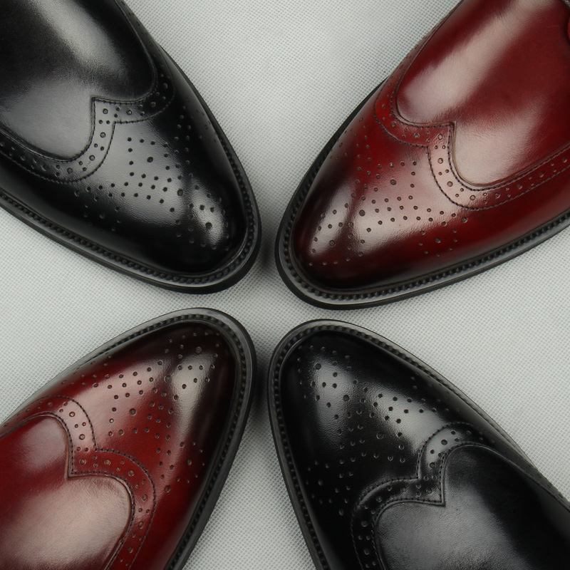 Design Masculino Up 1 Sapatas Sapatos Terno Luxo Novo Festa Lace Couro As Casamento Modernos Formal Genuíno as 2 Pic Brogue De Calçado Homens Vestido xvwS41Oq7I