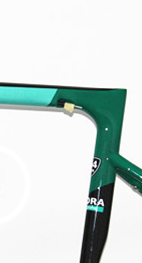 2018 New style Green glossy sl6 t1100 road carbon frame with Frame+fork+headset+clamp+seat post Taiwan made factory direct price track frame fixed gear frame bsa carbon 1 1 2to 1 1 8 bike frameset with fork seatpost road carbon frames fixed gear frameset