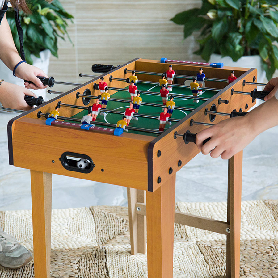 Football Table Games Foosball Table Soccer Tables Party Board Mini Balle Baby Foot Ball Desk Interaction Game Kid Player Gift T4-1