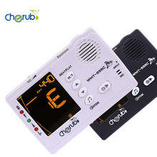 WMT-555C Auto 3 in 1 Metronome Tuner and Tone Generator Combo Trainer for Chromatic Bass Ukulele Guitar Violin Wind Instruments