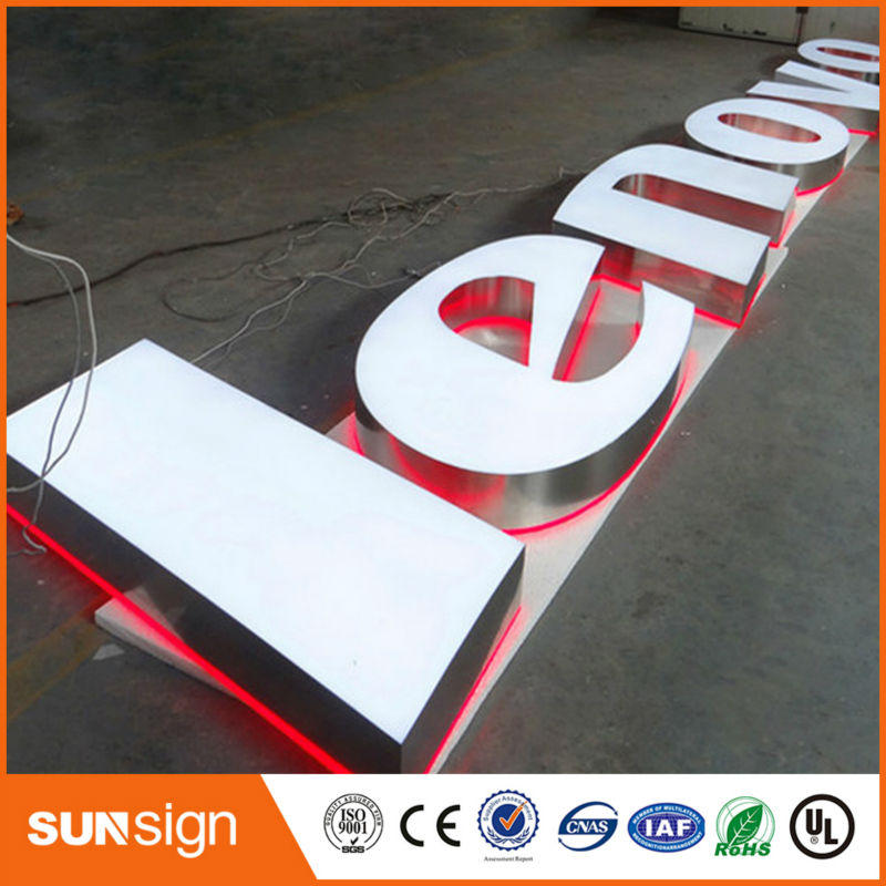 Custom LED Light Up Sign Illuminated Sign Letters