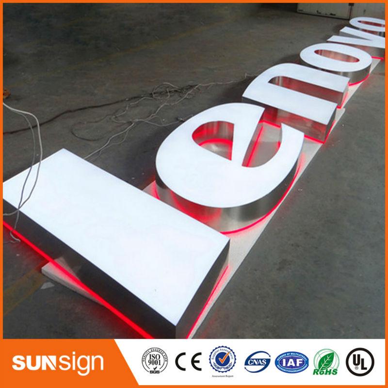 Custom LED Light Up Sign Illuminated Sign Letters