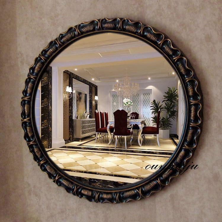 large big decorative cosmetic antique wall bathroom mirror