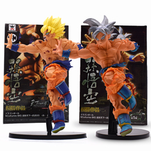 Hot Action Figure Dragon Ball Z Super Saiyan Son Goku Ultra Instinct Figure PVC Son Gokou Figures Collectible Model Toy With Box цена 2017