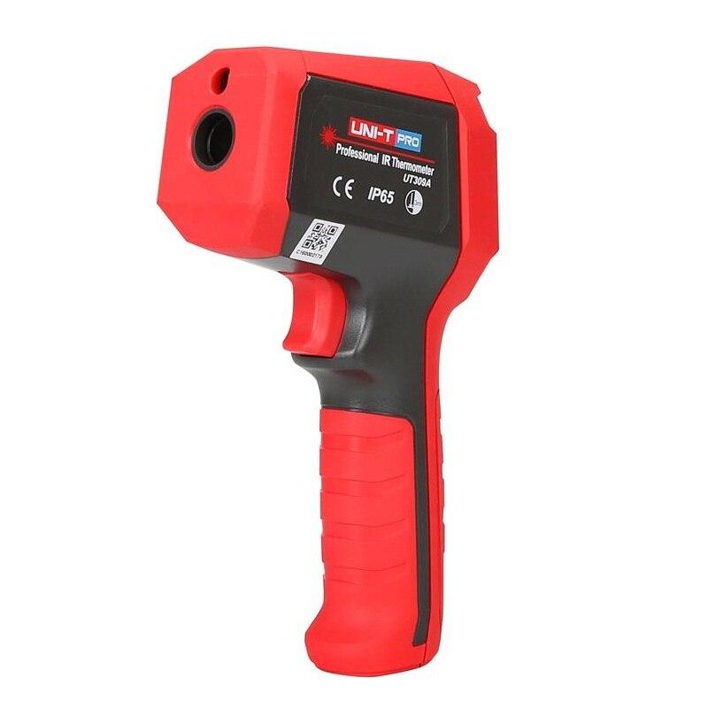 UNI-T UT309A thermomètre infrarouge professionnel sans contact Laser numérique-35 ~ 450C (-31 ~ 842F) pyromètre infrarouge Laser