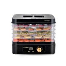Sichere Energie Sparende Elektrische Obst Trocknen Maschine Hause Lebensmittel Trockner Obst Gemüse Fleisch Dörr 5 Schichten Pet Lebensmittel Trocknen Werkzeug