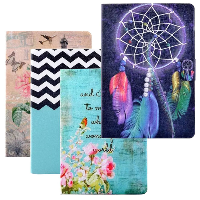 Brand New Shock Proof Slim Flip Stand Folding PU Leather Cover Case for Samsung Galaxy Tab A 9.7 Inch SM-T550 Tablet slim fit stand feature folio flip pu hybrid print case for lenovo tab 3 730f 730m 730x 7 inch