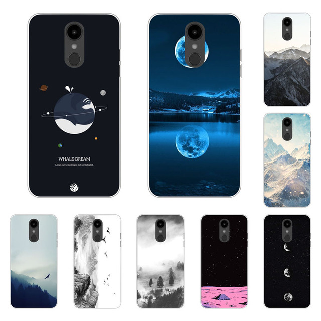 60d5d7d7358f US $1.51 5% OFF LG Aristo 2 Case,Silicon view Space Painting Soft TPU Back  Cover for LG Aristo 2 Phone bags-in Fitted Cases from Cellphones & ...