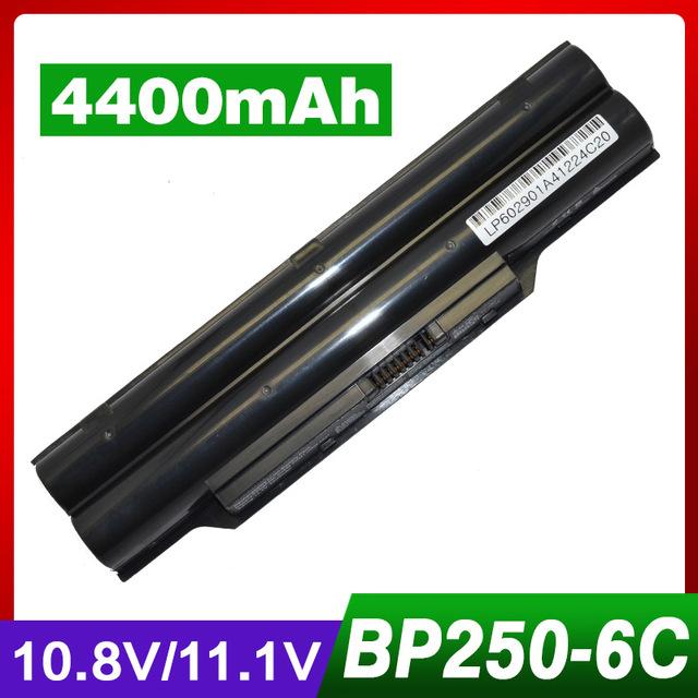 Fpcsp274 bp250 fpcbp250 fpcbp250ap fpcbp274 batería del ordenador portátil para fujitsu lifebook a530 a531 ah531 lh520 lh530 lh531 lh52/c lh701