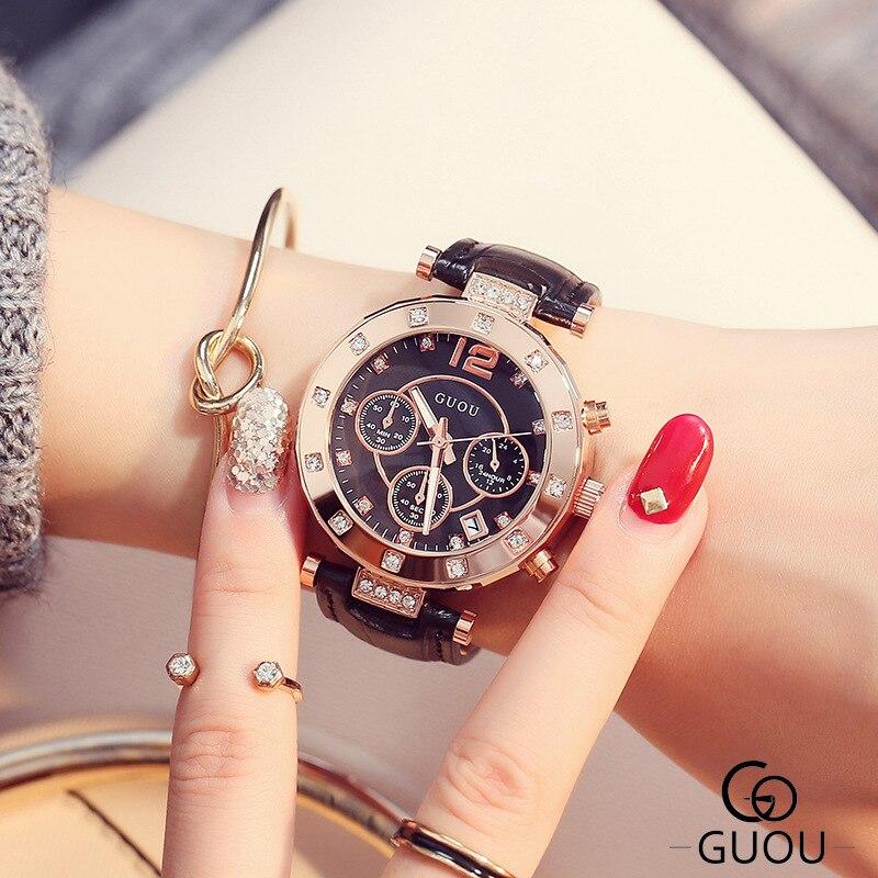 GUOU ρολόι πολυτελείας κυρίες ρολόι - Γυναικεία ρολόγια - Φωτογραφία 2