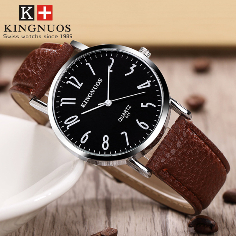 где купить Zegarki Meskie 2017 Simple Fashion Men Watch Women Casual Leather Quartz Watches Student Waterproof Wristwatches Reloj Mujer по лучшей цене