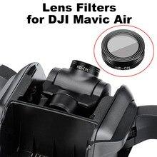 УФ CPL ND4 ND8 ND16 ND32 объектив фильтр для DJI Мавик Air Drone Gimbal HD фильтр запасных Запчасти круговой поляризатор