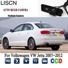 Telecamera Per La retromarcia Per Volkswagen VW Jetta 2007 ~ 2012 2008 2011 di Visione Notturna del CCD Videocamera vista posteriore licenza plat Fotocamera di Alta qualità