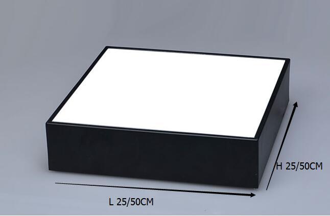 Ufficio moderno illuminazione a led a soffitto lampade piazza camera