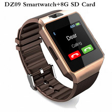 2017 DZ09 Smartwatch Bluetooth montre intelligente Relogio montre Android téléphone appel SIM TF caméra pour IOS Apple iPhone Samsung Smart(China)