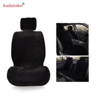 kalaisike plush universal car seat covers for Suzuki all models grand vitara vitara jimny swift SX4 Kizashi automobiles styling