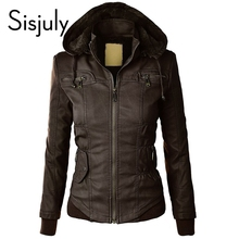 Sisjuly Cardigan European Coat Cotton Pocket Zipper Sweatshirt Fleece Hoodies With Cap Long Sleeve autumn Winter Casual Jacket