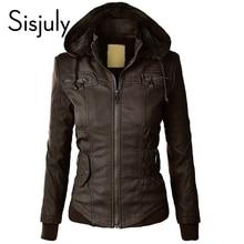 Sisjuly Cardigan European Coat Cotton Pocket Zipper Sweatshirt Fleece Hoodies With Cap Long Sleeve autumn Winter Casual Jacket
