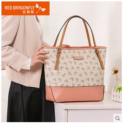 Red Dragonfly Bags 2017 New Spring Fashion Handbag Bag Trend Of Large Capacity Single Shoulder In Top Handle From Luggage On