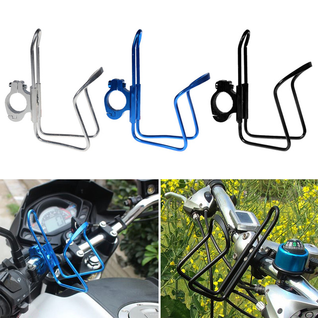 6c0c2bfd9b New Water Bottle Cage Cup Holders Motorcycle Bicycle Rack Electric Bicycles  Aluminum Alloy Beverage Cups Holder YS-BUY
