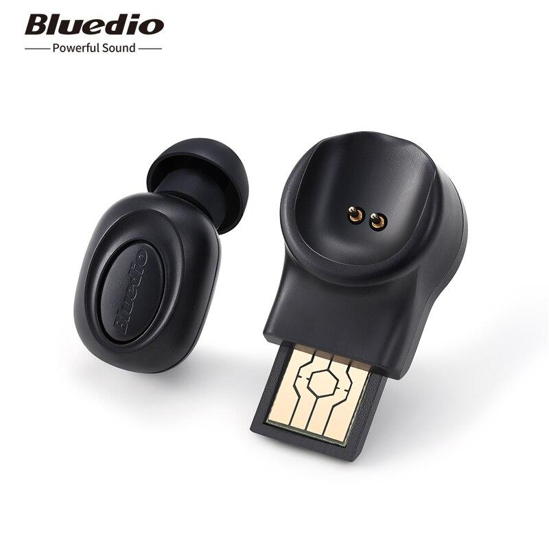 Bluedio T-hablando auricular Bluetooth para deporte inalámbrico/auriculares en la oreja con micrófono integrado con control de voz agradable bajo