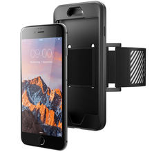 For iPhone 7 Plus (2016),8 Plus (2017) Armband Case SUPCASE Easy Fitting Sport Running Armband WITHOUT Built-in Screen Protector(China)
