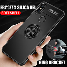 Case For Huawei Mate 20 Lite Case For Huawei P30 Pro Case Silicone Soft Cover For Honor 8X Max 8A 8C V20 Case Ring Magnetic Capa(China)