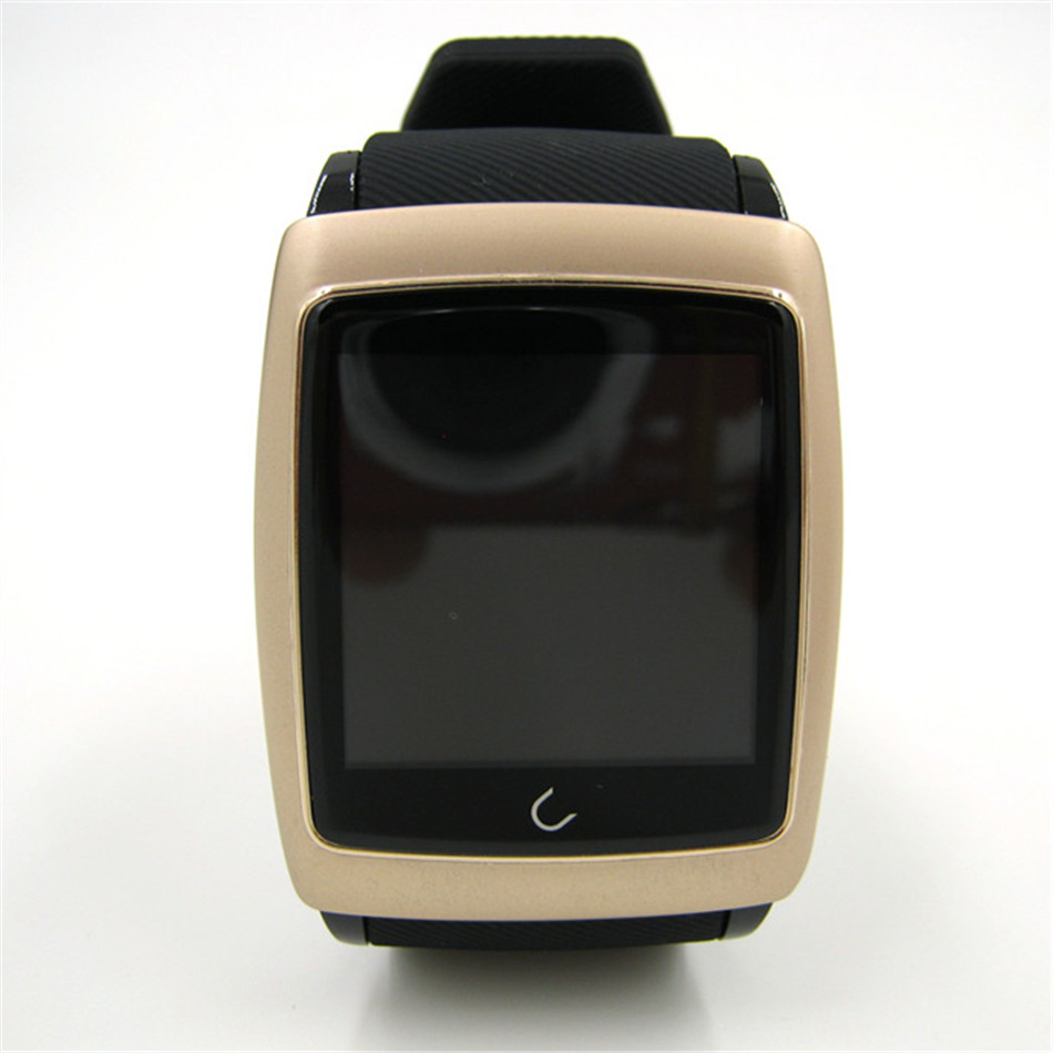 Uwatch U18 Bluetooth font b Smart b font Watch silicone strap SmartWatch case for ios Apple
