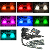 Wireless Music Control 7 Color RGB Car Interior Lights Kit Decorative Lamp Led Lights Strip Atmospher