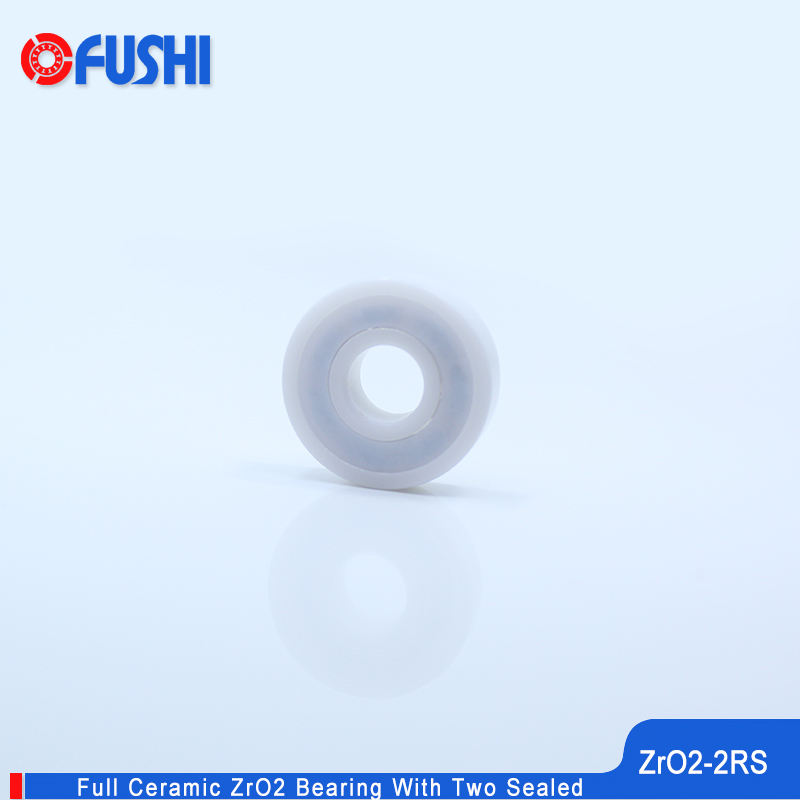 6000 Full Ceramic Bearing ZrO2 1PC 10*26*8 mm P5 6000RS Double Sealed Dust Proof 6000 RS 2RS Ceramic Ball Bearings 6000CE 6001 full ceramic bearing zro2 1pc 12 28 8 mm p5 6001rs double sealed dust proof 6001 rs 2rs ceramic ball bearings 6001ce
