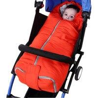 Baby sleeping bag envelop stroller footmuff winter strollers accessories stroller seat sleepsacks high quality Fleece Cosytoe