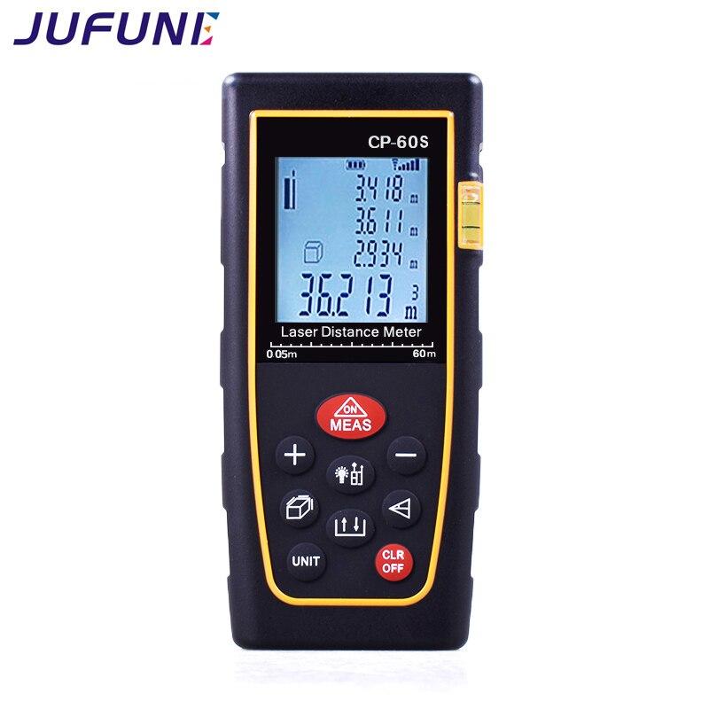 Misura del telemetro laser digitale Jufune CP-60S - Strumenti di misura - Fotografia 4