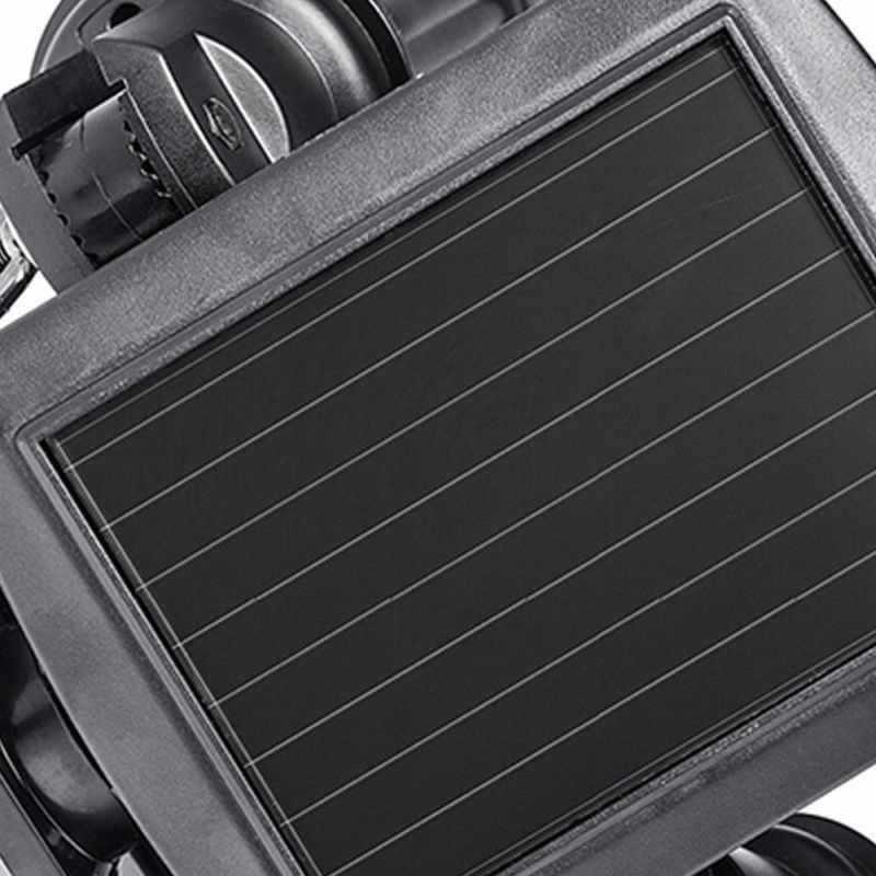 На солнечных батареях с двойной головкой настенный встроенный прожектор 14LED движения PIR сенсорный светильник для Открытый сад складской гараж для крыльца