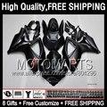 Flat black 8Gift  For SUZUKI GSXR600 06 07 GSXR750 06-07 3JK811 GSX R600 K6 R750 GSXR 600 750 2006 2007 Fairing  Matte black K6