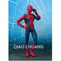 NEW 14CM Spider Man Bug Homecoming The Spiderman PVC Action Figure Collectible Model Toy The Avengers