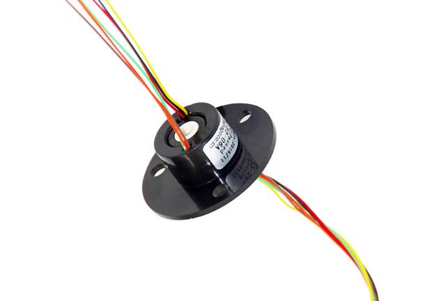 Free Shipping Micro Hollow Slip Ring Center Hole Diameter 5/7/9mm  2/4/6/12 Circuits 2A Slip Ring Spare Parts Diameter 22/24.7mm цена 2016