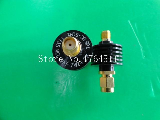 [BELLA] MINI VAT-7W2+ DC-6GHz 7dB 2W SMA Coaxial Fixed Attenuator  --3PCS/LOT